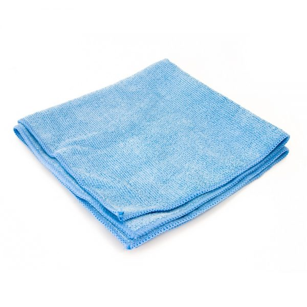 Blue microfiber Buffing & Polishing Cloth