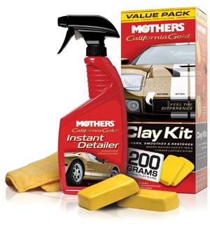 Mothers California Gold Clay Bar Kit
