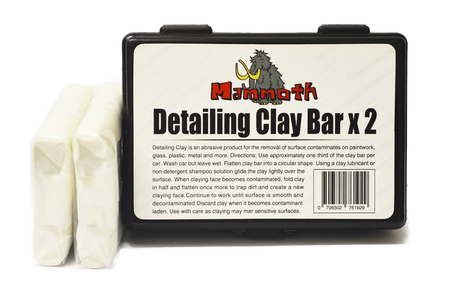 mammoth detailing clay bar twin pack