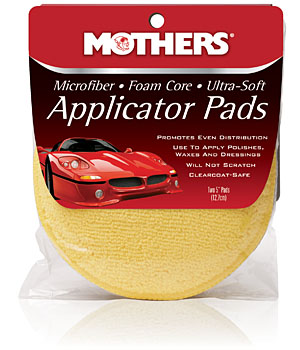Mothers Microfiber Applicator Pads
