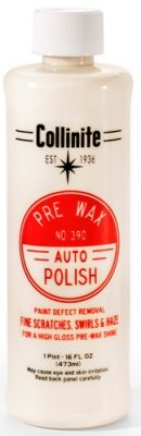 No. 390  Collinite Pre-Wax Auto Polish