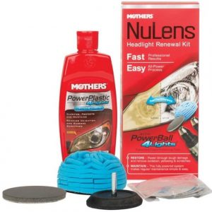 Mothers Nulens Headlight Renewal Kit