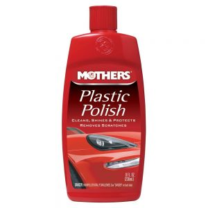 Mothers Plastic Polish 8oz
