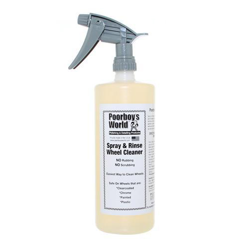 Poorboys Spray & Rinse Wheel Cleaner