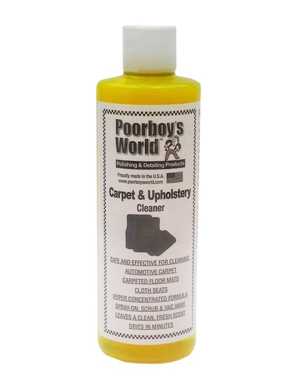 Poorboys Carpet and Upholstery Cleaner Detailing Emporium