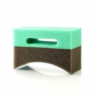 Tyre shine sponge