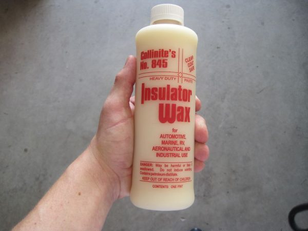 collinite 845 insulator wax