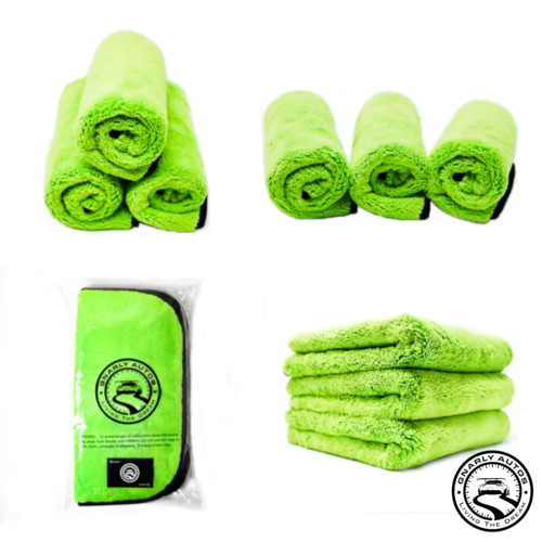 Gnarly Autos 1000gsm Ultra Thick Professional Microfiber Detailing Towel.