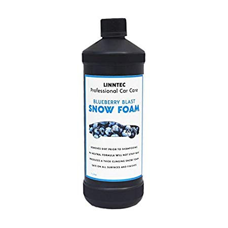 linntec blueberry blast snowfoam