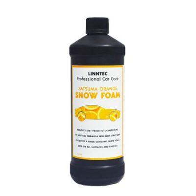 linntec satsuma orange snow foam