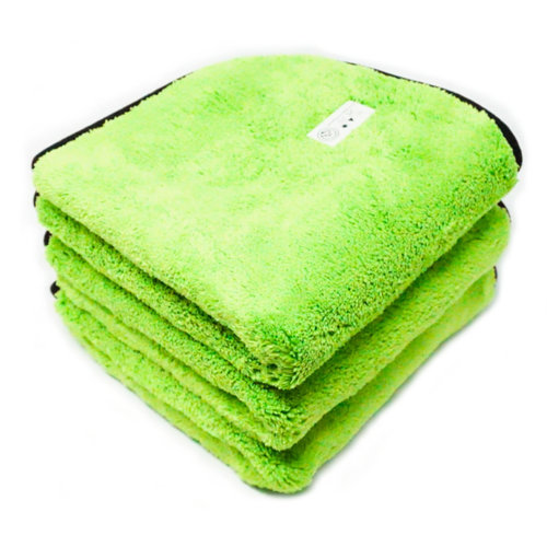 Gnarly Autos 1000gsm Ultra Thick Microfiber Detailing Towel. 3 Pack