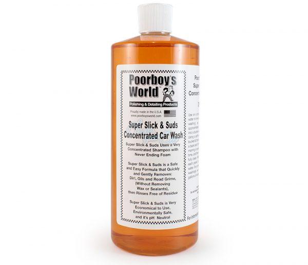 Poorboys Super Slick & Suds Shampoo