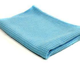 waffle weave microfiber towel